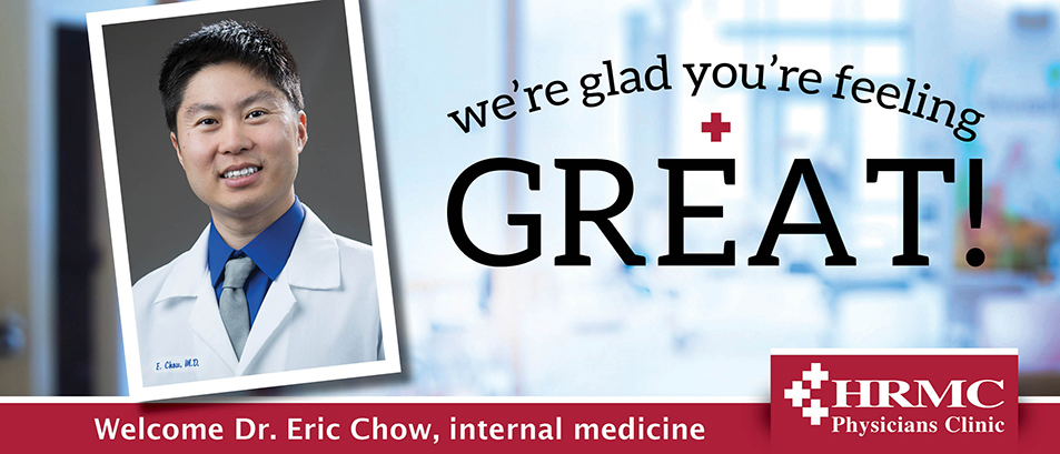 Welcome Dr. Chow
