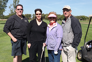 HRMC Foundation golf tournament - Blessinger and friends