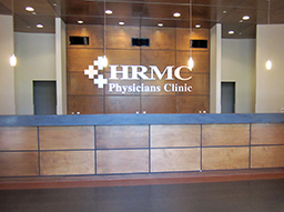 HRMC Physicians Clinic receptionist desk